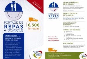 PORTAGE DE REPAS